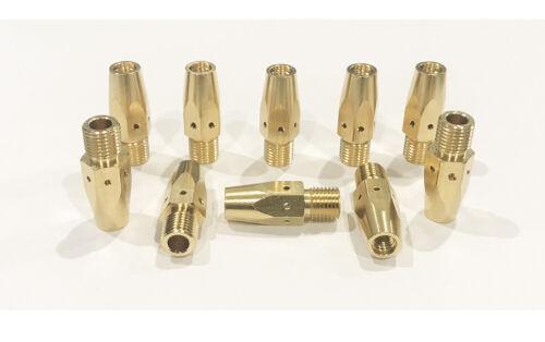10-PK 169-728 Mig Gas Diffuser 169728 for Miller M-25/M-40 Hobart Welding Gun