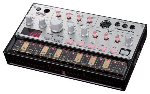 KORG Volca Bass Sequencer Builtin Analog bass Synthesizer