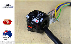 Combination Switch Block Vintage Cafe Racer Motorcycle Rat Bike Classic
