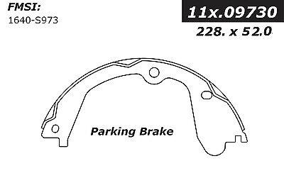 Parking Brake Shoe fits 2009-2014 GMC Savana 3500 Savana 3500,Savana 4