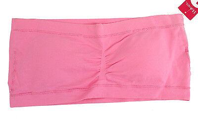 18980 Hanes Bandeau Bra, Strapless, Pink