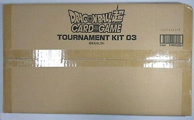 Dragon Ball Super CCG Tournament Kit vol 3 sealed 26 packs 2 playmats
