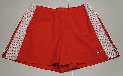 Nike Womens S Red 100% Polyester Athletic Shorts NWOTs