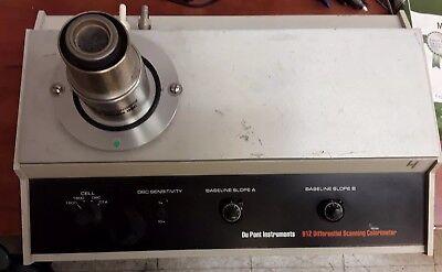 Du Pont 912 Differential Scanning Calorimeter No Power Supply