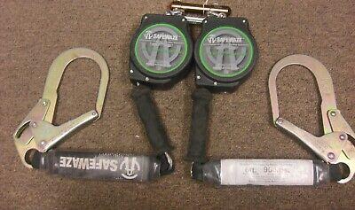 Safewaze Fall Arrestprotection System Sw-8008-10 Self Retracting Lanyard.