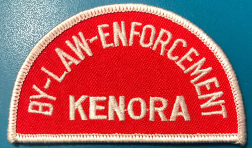 Kenora By Law Enforcement Ontario Canada Police Patch