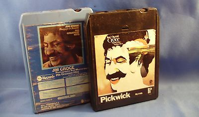 JIM CROCE VG 8-TRACK COLLECTION LOT OF 2 Photographs and Memories