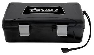 XIKAR 10 Cigar Travel Humidor Case - Boveda Pack Model - 210XI