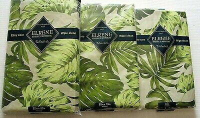 TROPICAL Vinyl Tablecloth Assortment TROPICAL FOLIAGE [Your Choice]](Tropical Tablecloth)