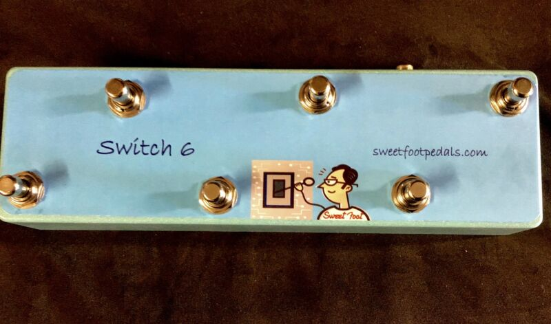 Switch-6  For TC Helicon VoiceLive, VoiceLive 3, VoiceLive 3 Extreme