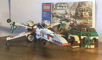 Lego Star Wars 4502 X-wing Fighter (Dagobah) 99% Complete No Minifigures
