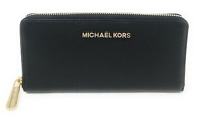 Michael kors  Large Zip Around Continental Leather Wallet $148