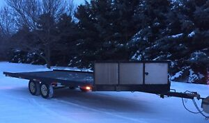 Ramp Master 4 Place Sled Trailer.