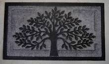 New Outdoor Tree Of Life Heavy Duty Black Entrance Doormats Mats Melbourne CBD Melbourne City Preview