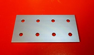 8020 8020 Equivalent Aluminum 8 Hole Joining Plate 15 Series Pn 4365 - New