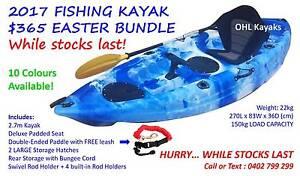 2017 Model Ocean Fishing Kayak Bundle Melbourne CBD Melbourne City Preview
