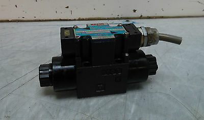 Nachi Wet Type Solenoid Operated Valve, SL-G01-C6S-GR-C1-30, 100V Used, Warranty