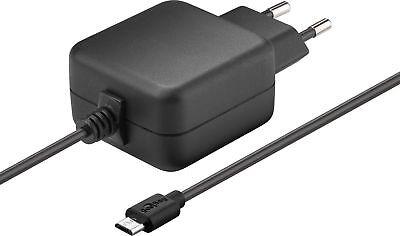 Micro USB Netzteil für Raspberry Pi 5V / 2,5A schwarz