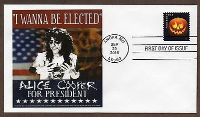 ALICE COOPER ELECT ME FOR PRESIDENT ~ 2016 JACK O
