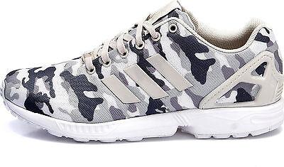 nib~Adidas ZX FLUX CAMO Running 8000 TORSION 700 Camouflage gym Shoe~Men sz 11.5