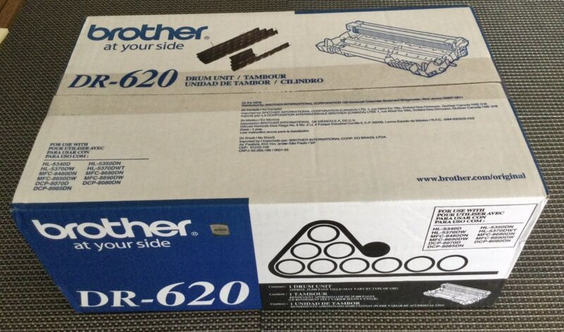 Brother DR 620 Drum Unit Brand New Genuine Factory Sealed