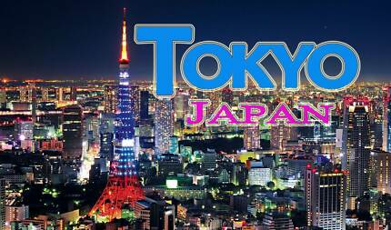 Four Return Flight Tickets Melbourne to Tokyo Camberwell Boroondara Area Preview