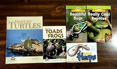 5 Kids Books About; REPTILES. TOADS & FROGS. HERPS. TURTLES. BUGS. Best Science