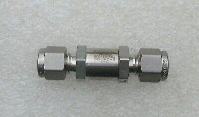 Swagelok 14 Tube Stainless Steel Ss Check Valve Ss-4c-5  New
