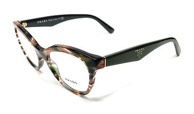 Prada VPR 11R VAO-1O1 Havana Women's Authentic Eyeglasses Frame 50-17
