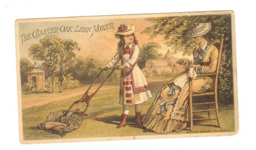 X-TRADE CARD-THE CHARTER OAK LAWN MOWER-CLEVELAND, OHIO-TC-019