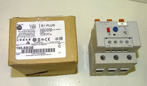 NEW Allen Bradley 193-EEGE overload protection relay - 18 to 90 Amps - E1 Plus