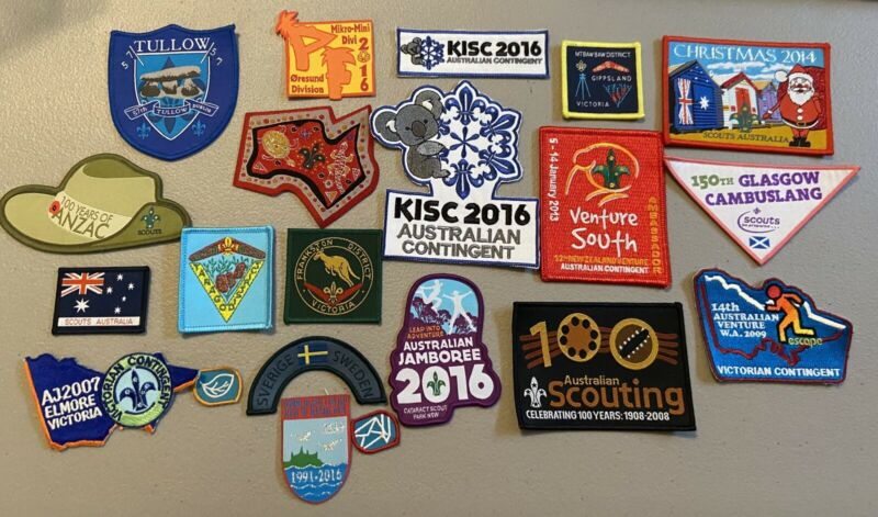BSA foreign Scouting Patches