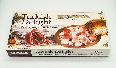 Turkish Delight KOSKA- Pomegranate -500g - vegan-Halal-sweet