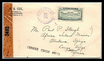 GP GOLDPATH: GUATEMALA COVER 1944 _CV695_P05