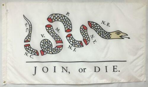 Ben Franklin 1754 Historical Indoor Outdoor Dyed Nylon Flag Grommets 3