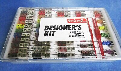 Coilcraft Tuneable Inductor Rf If Coils Vintage Design Kit Lot 2