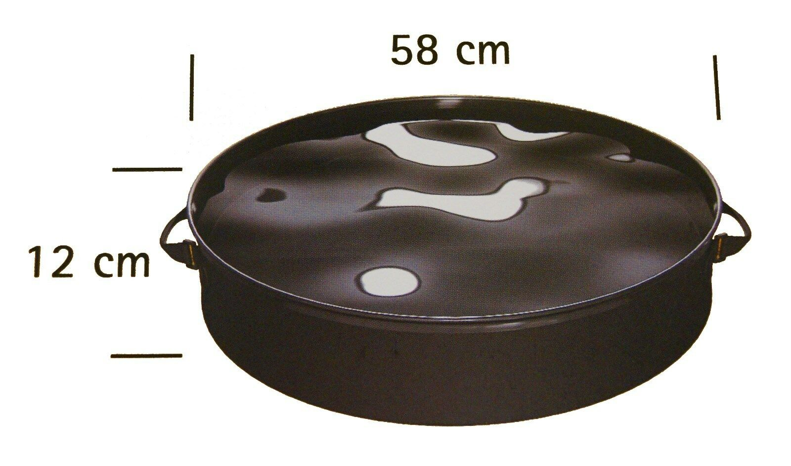 Reinigungswanne für Grillrost zur Reinigung Wanne Grillwanne Schale Weber Grill