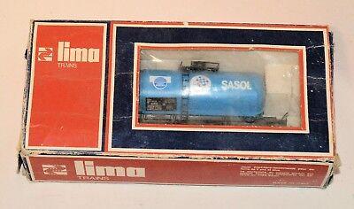 Rare Vintage Lima Ho Sar  Sas Sasol South African Railways Sasol Gas Tanker