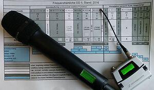 Umprogrammierung Sennheiser SKM 5200 und SK5212