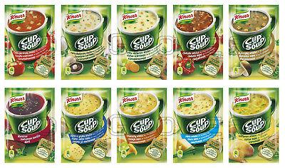 Instant Cup Noodles (KNORR Cup a Soup Instant Soup with Croutons & Noodles Various)