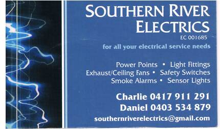 Need an Electrician ? Southern River Gosnells Area Preview