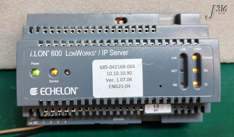 15757 ECHELON I.LON 600 LONWORKS/IPSERVER IP-852 ROUTER 72604R-TP/XF-1250