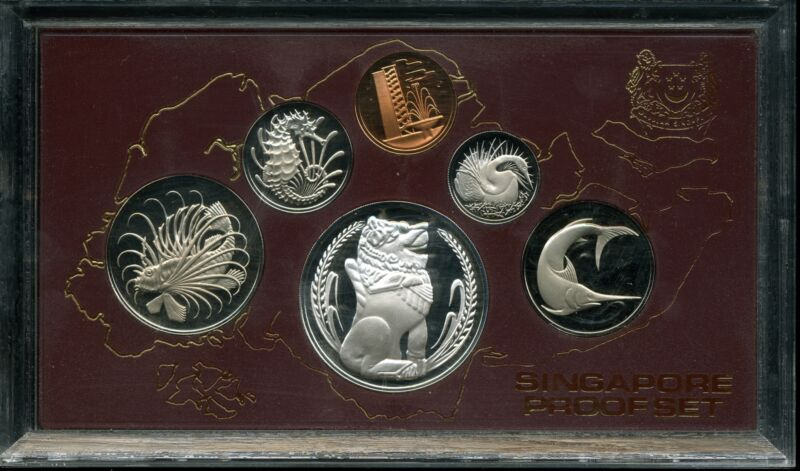 Singapore 1984 Proof Set