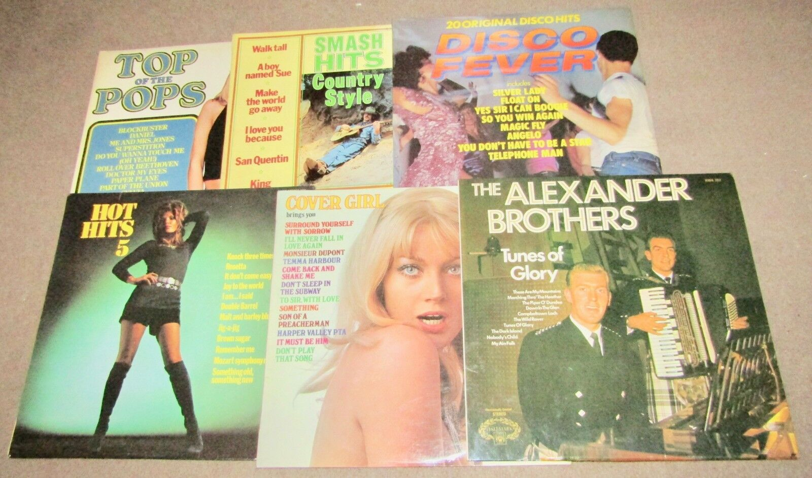 6 VARIOUS LPs