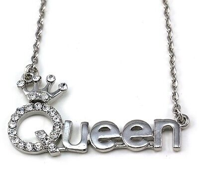 Queen Princess Crown Tiara Pendant Necklace Wedding Bridesmaid Prom Jewelry e1