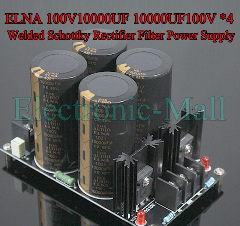 ELNA 100V10000UF 10000UF100V *4 Welded Schottky Rectifier Filter Power Supply