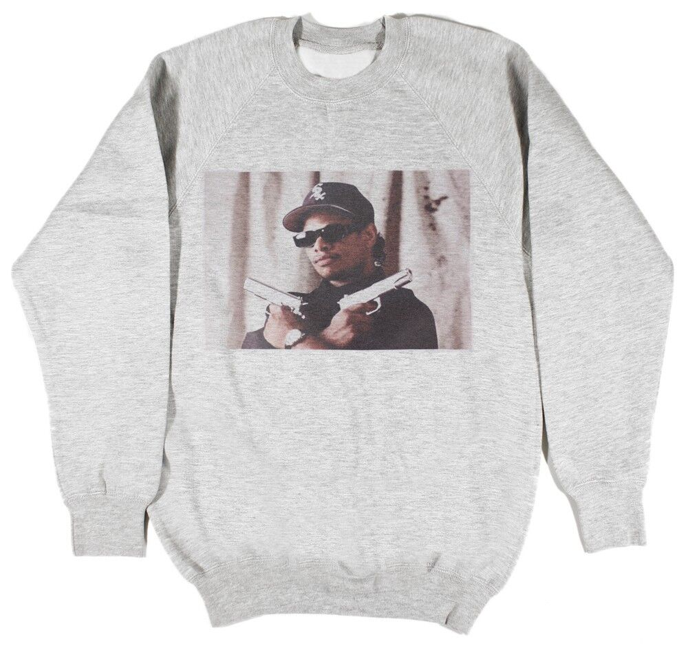 Eazy-e sweat taille s-xxl death row records hip hop rap supreme n.w.a capuche