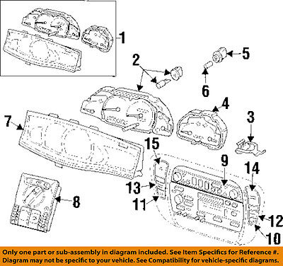 Cadillac GM OEM 00-01 Catera Anti-lock Brakes-Switch 9184777