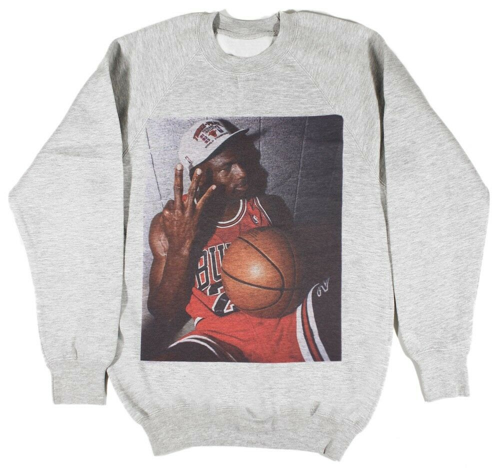 Michael jordan sweat taille s-xxl supreme basketball bulls bred nba capuche