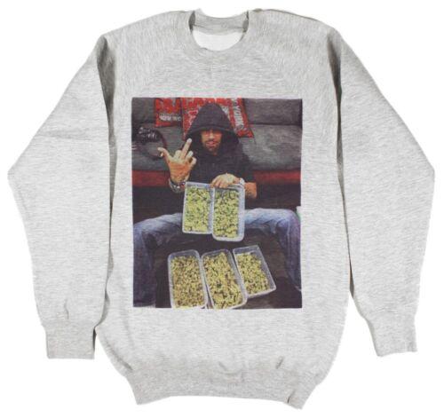 Redman gris sweat taille s-xxl wu tang supreme hip hop odb raekwon herbe dope